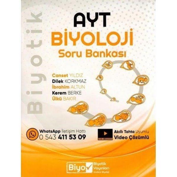 AYT Biyoloji Soru Bankası Biyotik Yayınları