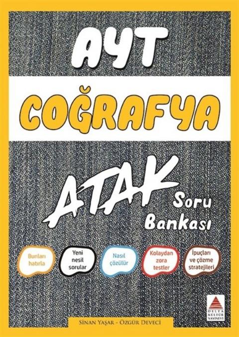 AYT Coğrafya Atak Soru Bankası Delta Kültür Yayınları
