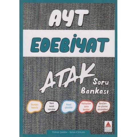 AYT Edebiyat Atak Soru Bankası Delta Kültür Yayınları