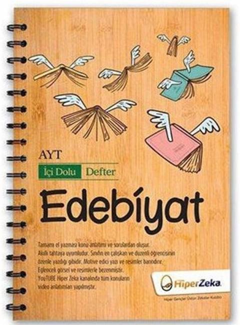 AYT Edebiyat İçi Dolu Defter Hiper Zeka Yayınları