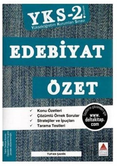 AYT Edebiyat Özet Delta Kültür Yayınları