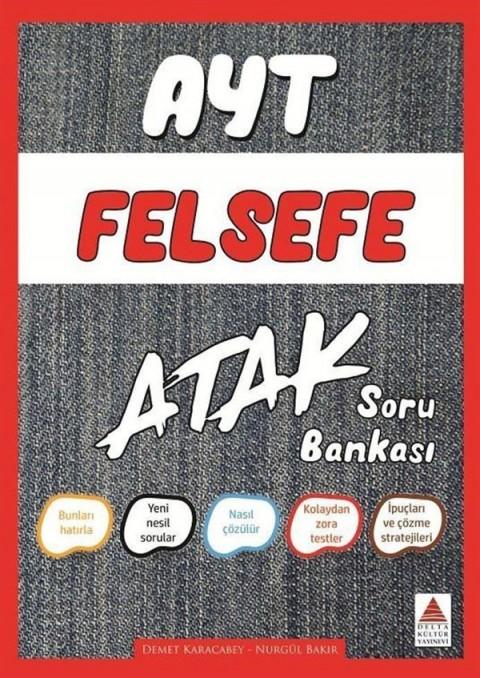 AYT Felsefe Atak Soru Bankası Delta Kültür Yayınları