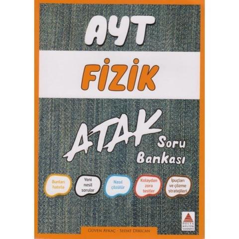 AYT Fizik Atak Soru Bankası Delta Kültür Yayınları
