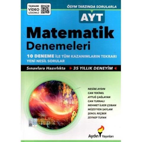 AYT Matematik Denemeleri Aydın Yayınları