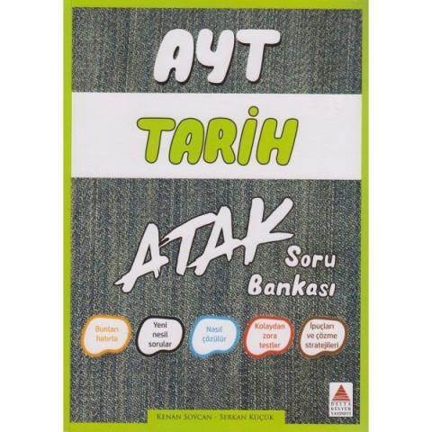 AYT Tarih Atak Soru Bankası Delta Kültür Yayınları