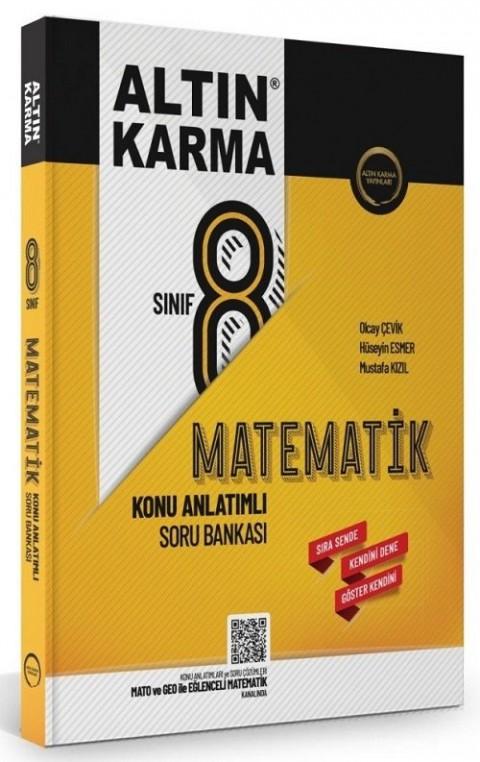 Altın Karma Yayınları 8. Sınıf Matematik Konu Anlatımlı Soru Bankası