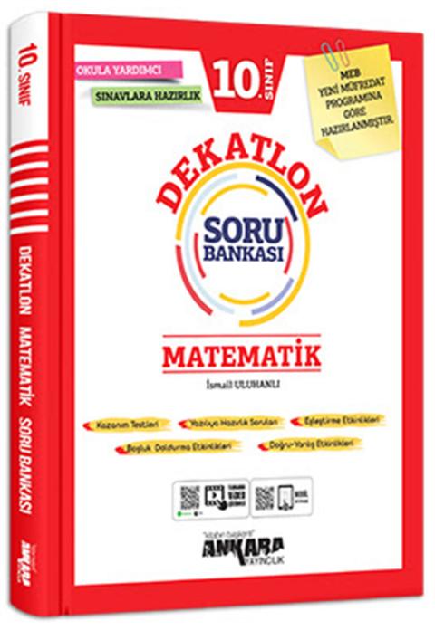 Ankara Yayıncılık 10. Sınıf Matematik Dekatlon Soru Bankası