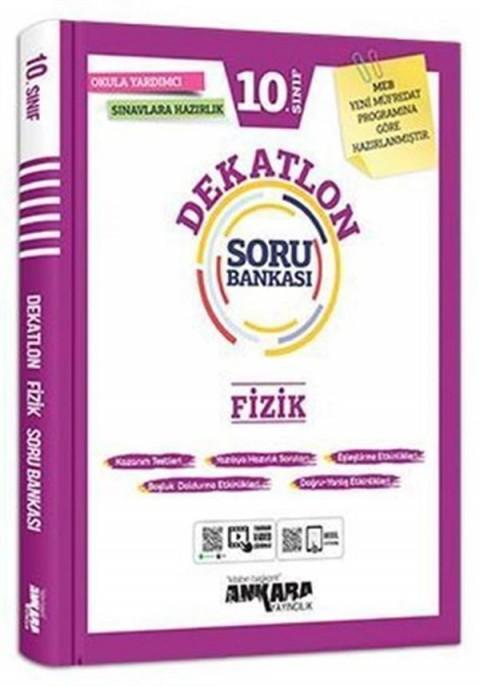 Ankara Yayıncılık 10.Sınıf Dekatlon Fizik Soru Bankası