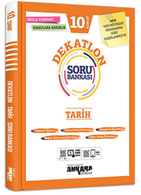 Ankara Yayıncılık 10.Sınıf Tarih Dekatlon Soru Bankası