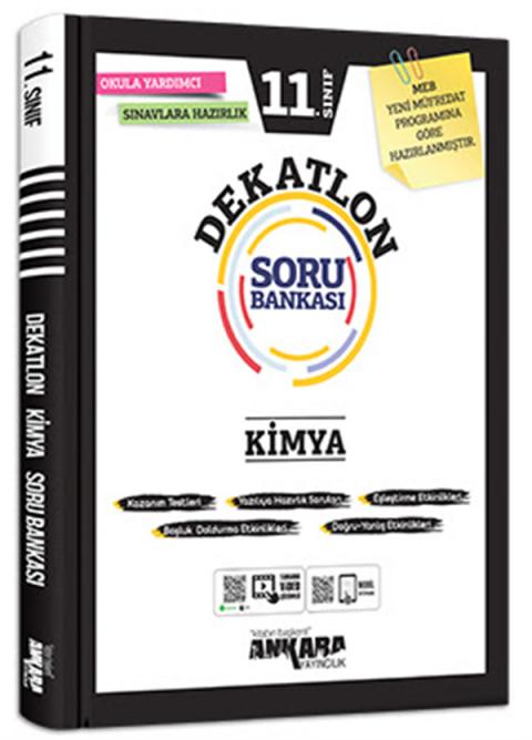 Ankara Yayıncılık 11. Sınıf Kimya Dekatlon Soru Bankası