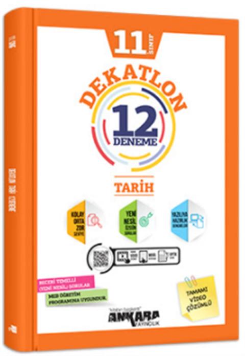 Ankara Yayıncılık 11.Sınıf Dekatlon Tarih 12 Deneme