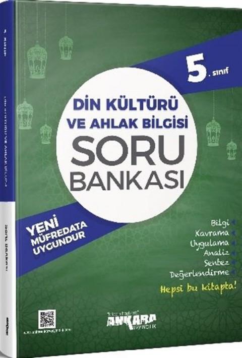 Ankara Yayıncılık 5.Sınıf Din Kültürü ve Ahlak Bilgisi Soru Bankası