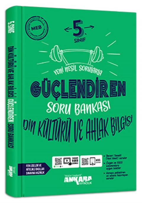 Ankara Yayıncılık 5.Sınıf Güçlendiren Din Kültürü ve Ahlak Bilgisi Soru Bankası