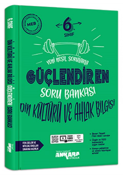 Ankara Yayıncılık 6. Sınıf Din Kültürü Güçlendiren Soru Bankası