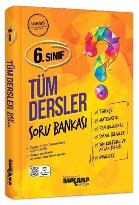 Ankara Yayıncılık 6.Sınıf Tüm Dersler Soru Bankası