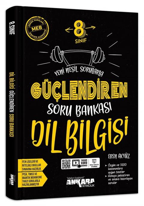 Ankara Yayıncılık 8. Sınıf Dil Bilgisi Güçlendiren Soru Bankası Video Çözümlü