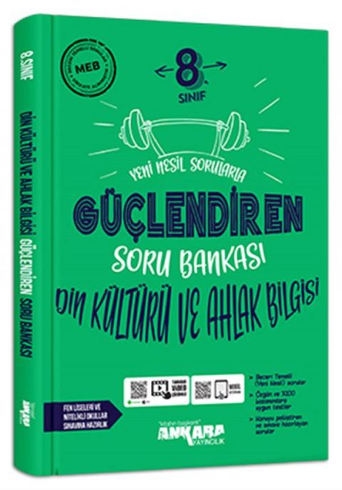 Ankara Yayıncılık 8. Sınıf Din Kültürü ve Ahlak Bilgisi Güçlendiren Soru Bankası