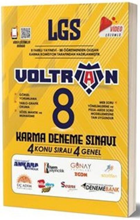 Ankara Yayıncılık 8. Sınıf LGS Karma Voltran Deneme Sınavı