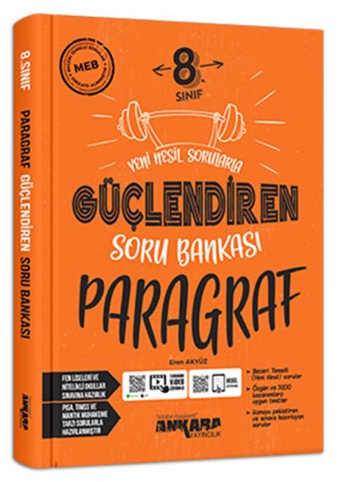 Ankara Yayıncılık 8. Sınıf Paragraf Güçlendiren Soru Bankası