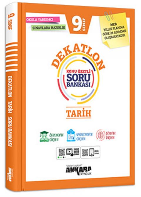 Ankara Yayıncılık 9. Sınıf Tarih Dekatlon Soru Bankası