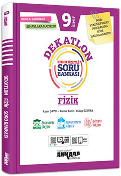 Ankara Yayıncılık 9.Sınıf Fizik Dekatlon Soru Bankası