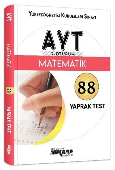 Ankara Yayıncılık AYT 2. Oturum Matematik Yaprak Test