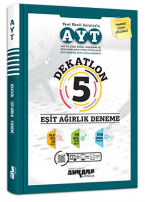 Ankara Yayıncılık AYT Dekatlon 5 Eşit Ağırlık Deneme