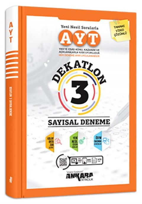 Ankara Yayıncılık AYT Dekatlon Sayısal 3 Deneme
