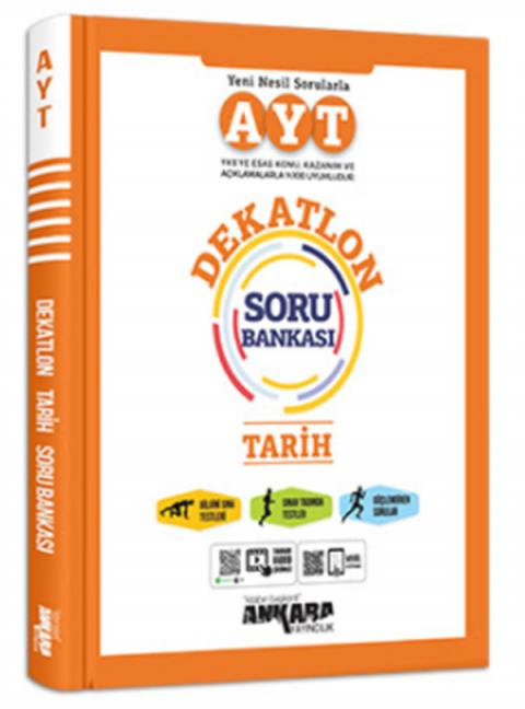 Ankara Yayıncılık AYT Tarih Dekatlon Soru Bankası