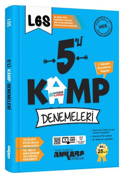 """Ankara Yayıncılık LGS """"1. Dönem"""" 5'li Kamp Denemeleri"""