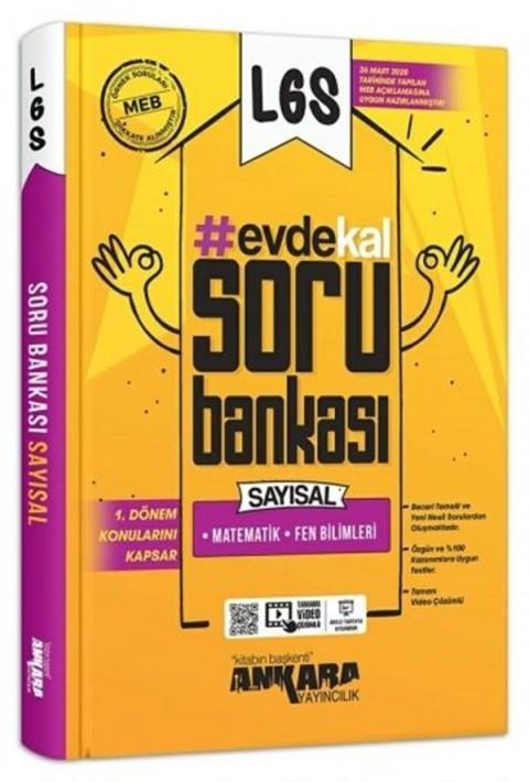 Ankara Yayıncılık LGS 1. Dönem Evde Kal Sayısal Soru Bankası