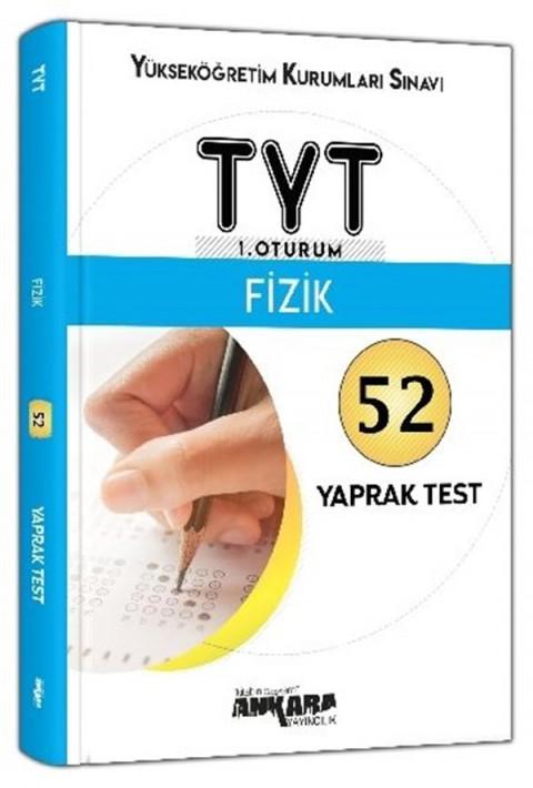 Ankara Yayıncılık TYT 1. Oturum Fizik 52 Yaprak Test