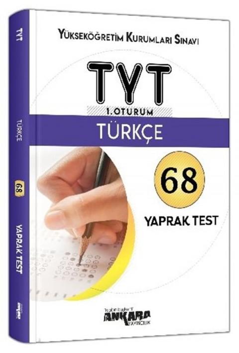 Ankara Yayıncılık TYT 1. Oturum Türkçe 68 Yaprak Test