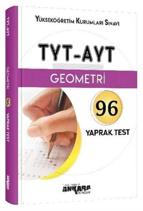 Ankara Yayıncılık TYT-AYT Geometri 96 Yaprak Test