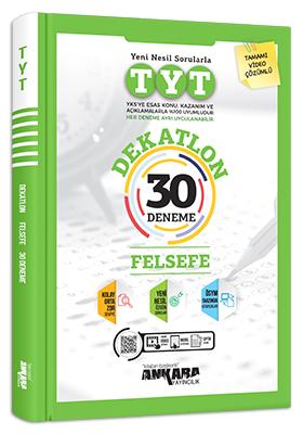 Ankara Yayıncılık TYT Dekatlon Felsefe 30 Deneme