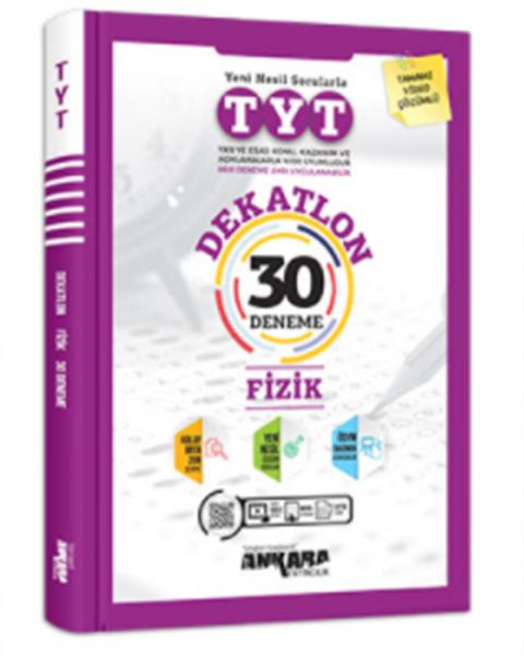 Ankara Yayıncılık TYT Dekatlon Fizik 30 Deneme