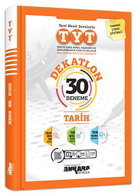 Ankara Yayıncılık TYT Dekatlon Tarih 30 Deneme