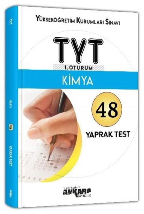 Ankara Yayıncılık TYT Kimya 48 Yaprak Test
