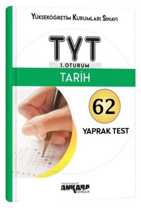Ankara Yayıncılık TYT Tarih 62 Yaprak Test