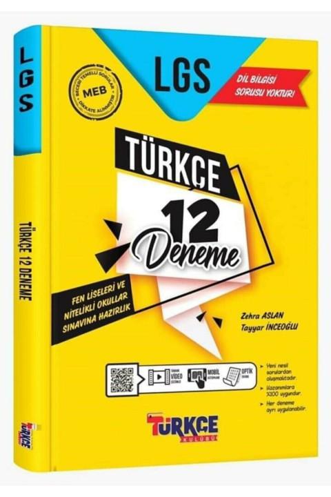 Ankara Yayıncılık Türkçe Kulübü 12'li Türkçe Deneme