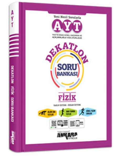 Ankara Yayıncılık YKS AYT Dekatlon Fizik Soru Bankası