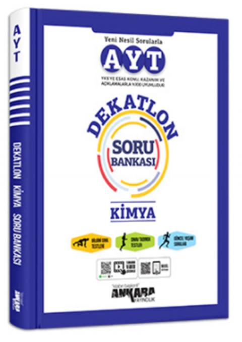 Ankara Yayıncılık YKS AYT Dekatlon Kimya Soru Bankası
