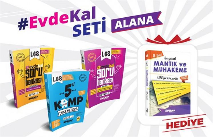 Ankara Yayıncılık #evdekal 3'lü Set Sayısal Mantık Soru Bankası Hediyeli