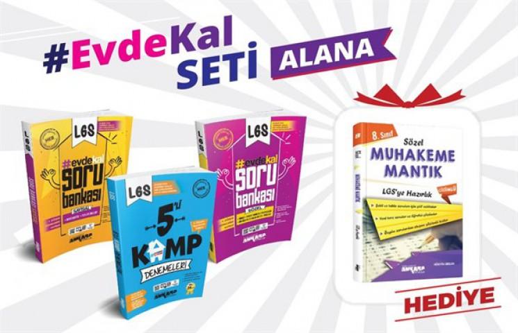 Ankara Yayıncılık #evdekal 3'lü Set Sözel Mantık Soru Bankası Hediyeli