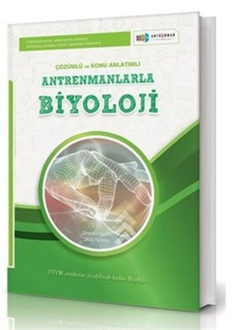 Antrenman Yayınları Antrenmanlarla Biyoloji Örnek Çözümlü ve Konu Anlatımlı