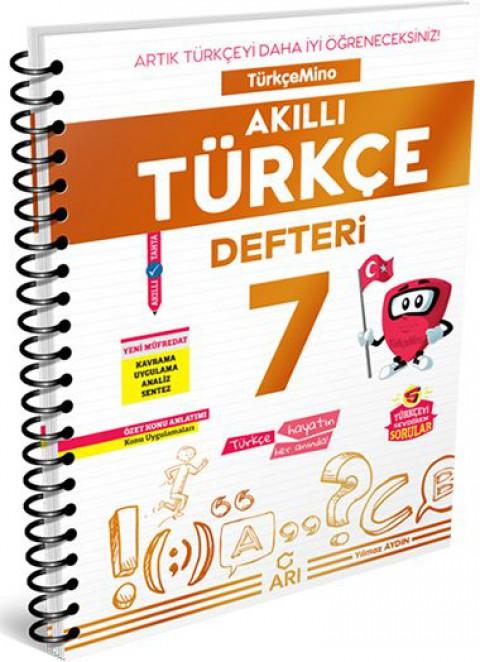 Arı Yayıncılık 7. Sınıf Türkçe Akıllı Defteri