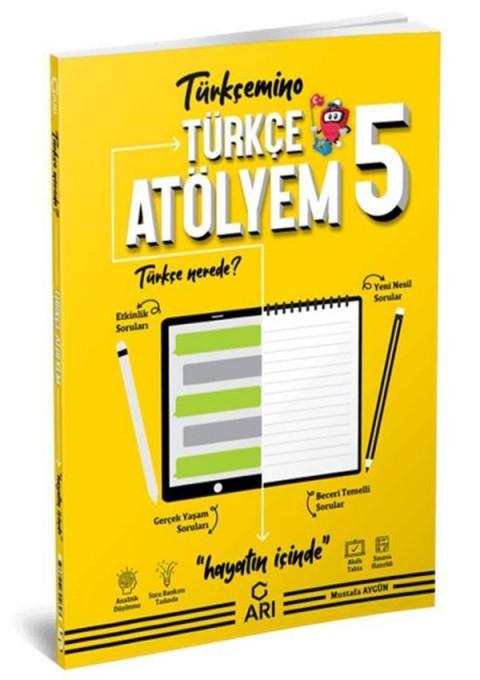 Arı Yayınları 5.Sınıf Türkçemino Türkçe Atölyem