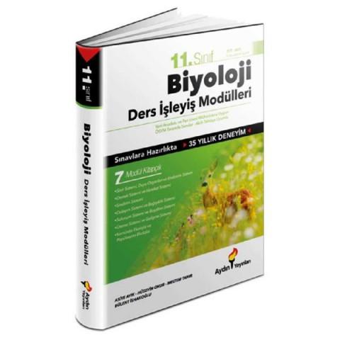 Aydın Yayıncılık  11. Sınıf Biyoloji Ders İşleyiş Modülleri