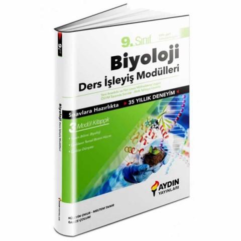 Aydın Yayınları 9.Sınıf Biyoloji Ders İşleyiş Modülleri