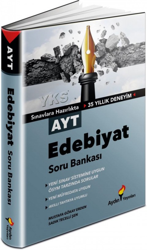 Aydın Yayınları AYT Edebiyat Soru Bankası
